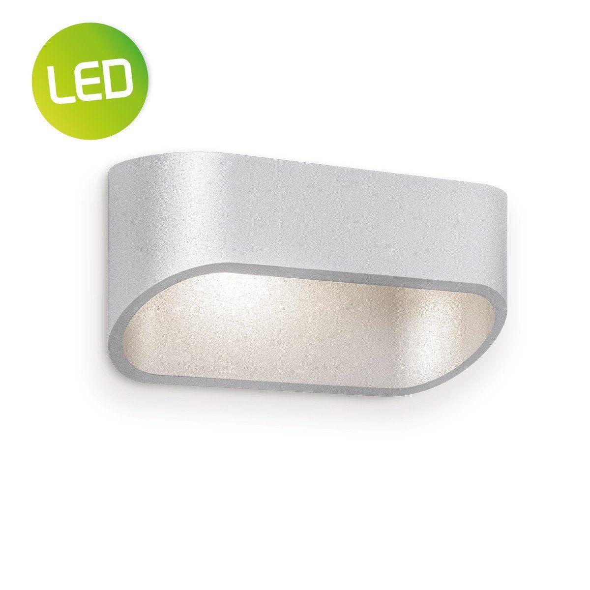 LED wandlamp lizzie ↔ 16,2 cm zilvergrijs | Besselink licht ...
