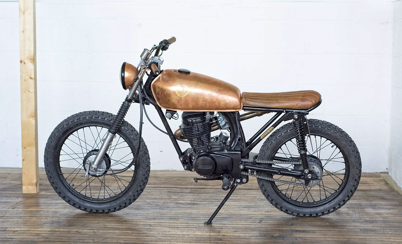 Foundry Motorcycles Hedon CG125 the Bike Shed LANDCRUISERS AND