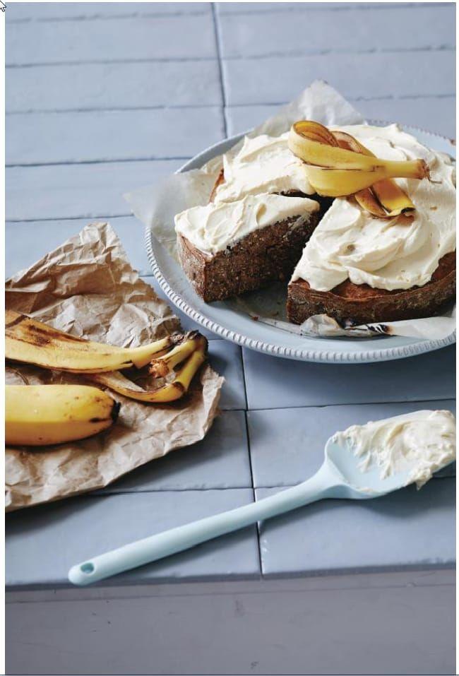 Sarah Wilson just made a banana peel bread | No sugar ...