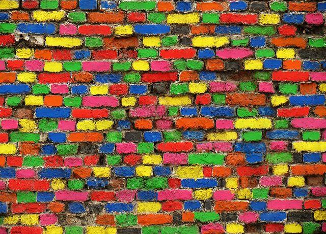 20120608 5k Colourful Bricks Zagreb Croatia Color Brick Croatia