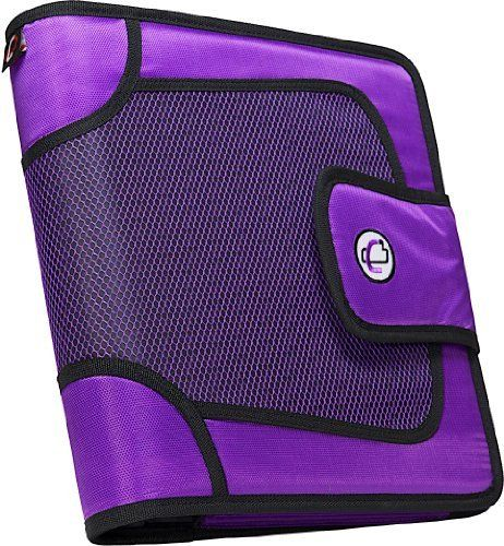 Case-it Velcro Closure 2-Inch Ring Binder With Tab File