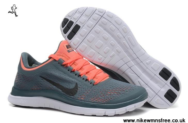 promo code e7251 e16d5 580392-406 Nike Free 3.0 V5 Womens Shoes Deep Gray Orange
