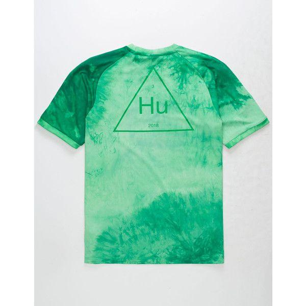 c93d1c6ee07c Adidas Originals Pharrell Williams Hu Holi Adicolor Green Tee ( 40) ❤ liked  on Polyvore