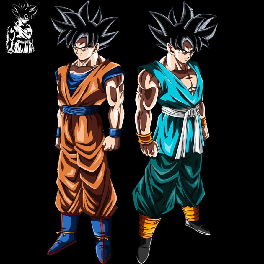 Son Goku Ultra Instinct Forms by ajckh25   Dragon ball goku, Anime ...