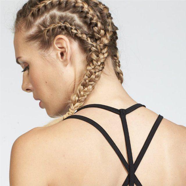 15 idées coiffures pour faire du sport Coiffure sport