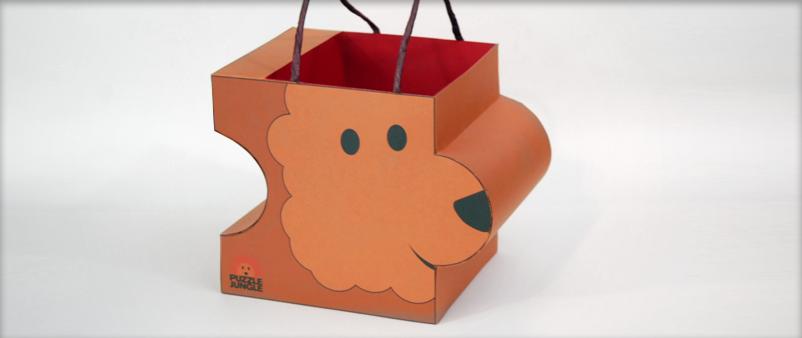 Lion Shopping Bag / Shopping Bag Design