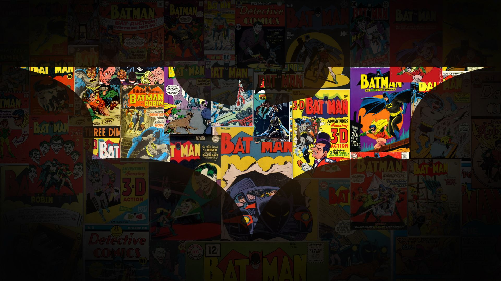 batman collage - Buscar con Google