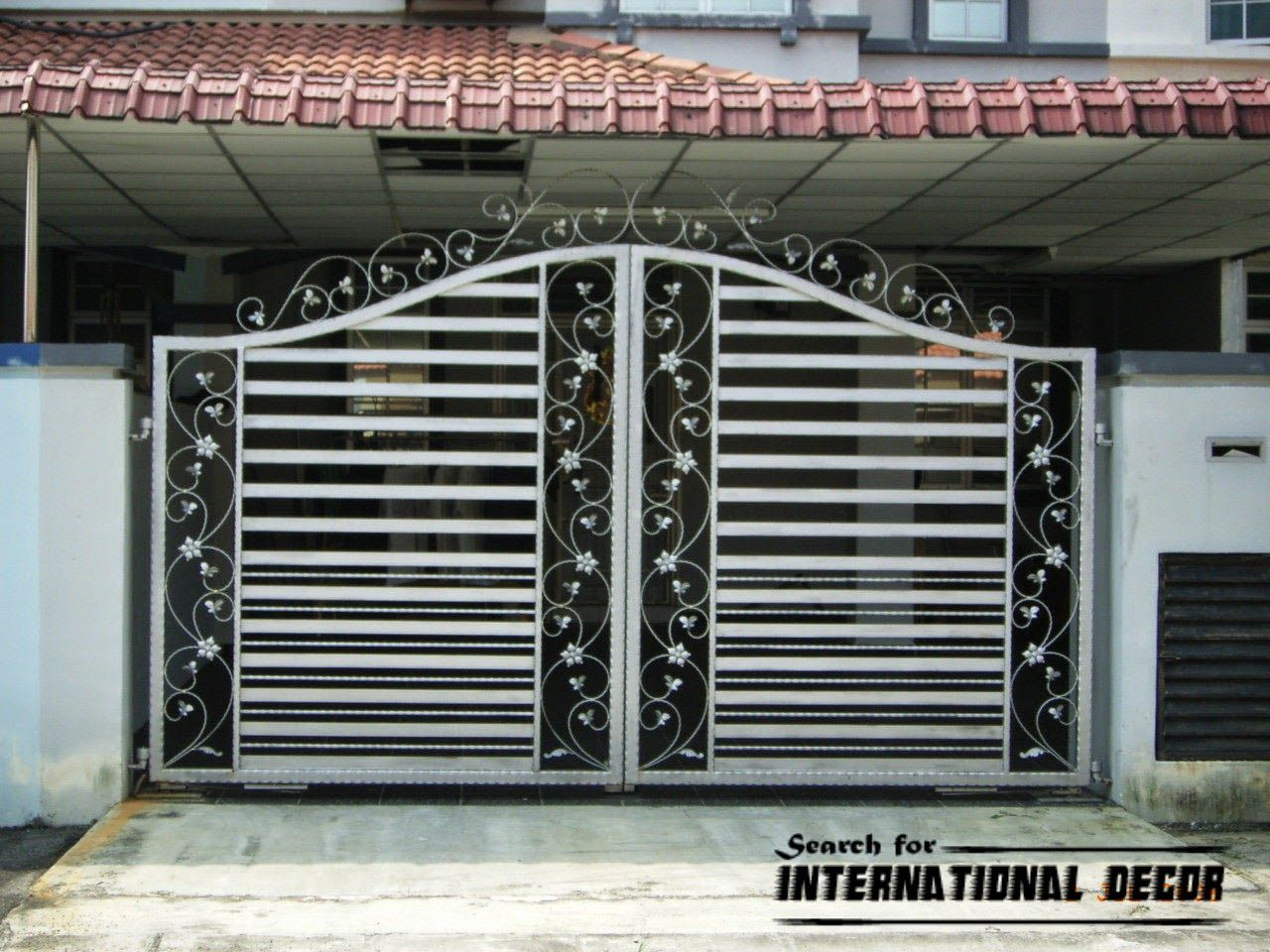 Choice of gate designs for private house and garage L a ch n thi t k  c a  cho nh. gate designs pictures   Google Search   Ideas for the House