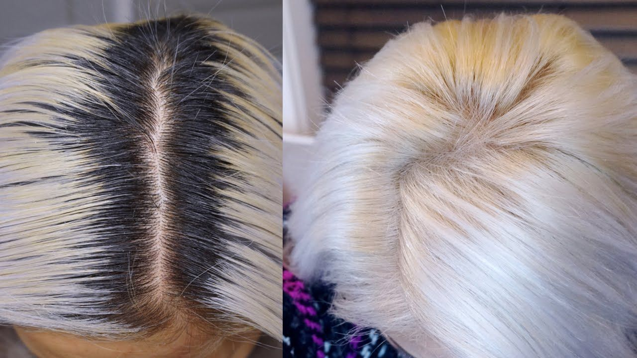 Diy White Hair Root Touch Up Asian Hair Maricarljanah Roots