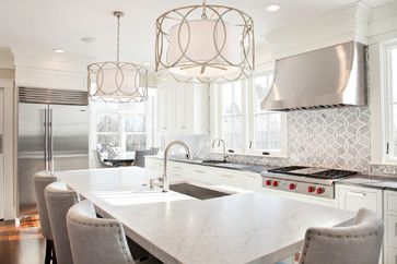 Kitchen Design Works Inspiration Walnut And White  Transitional  Kitchen  Boston  New England 2018