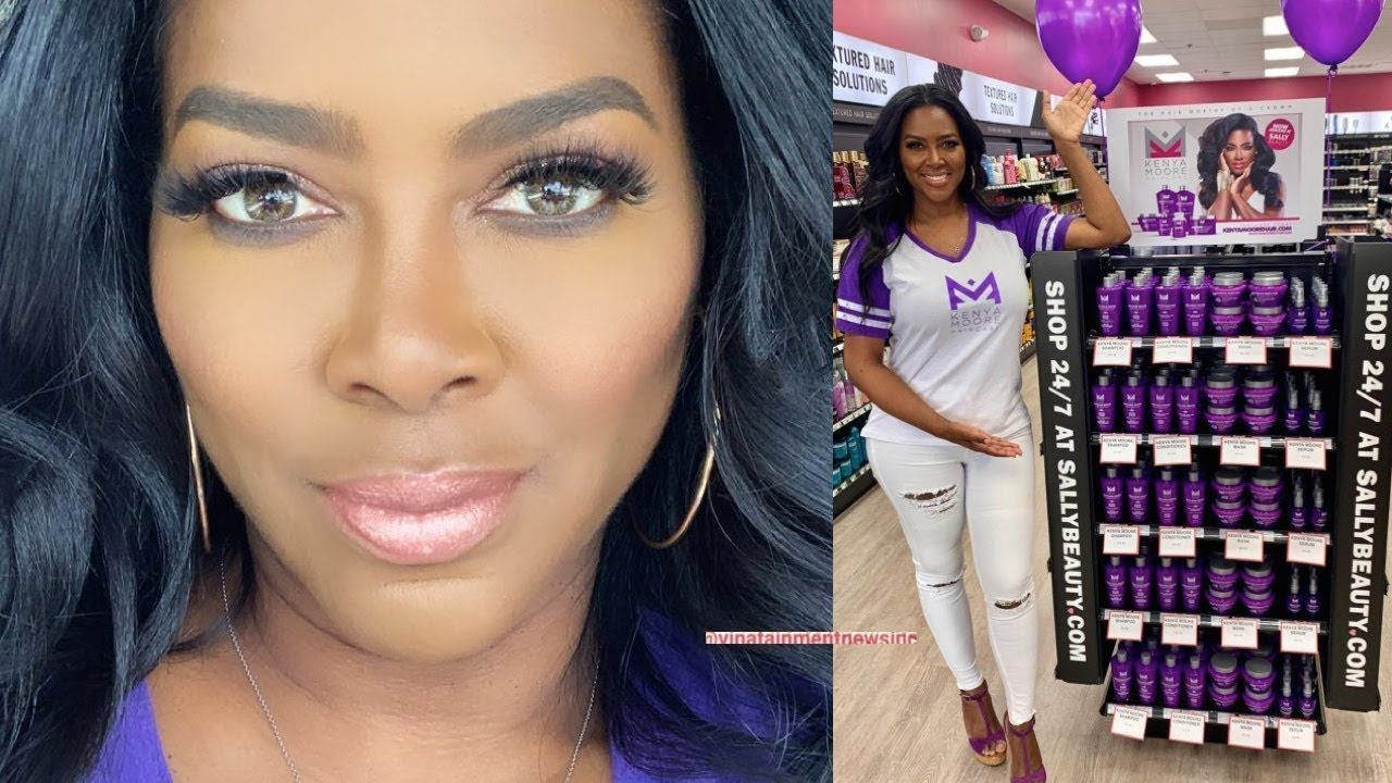 Boss Kenya Moore Sally Beauty In Store Kenya Moore Hair