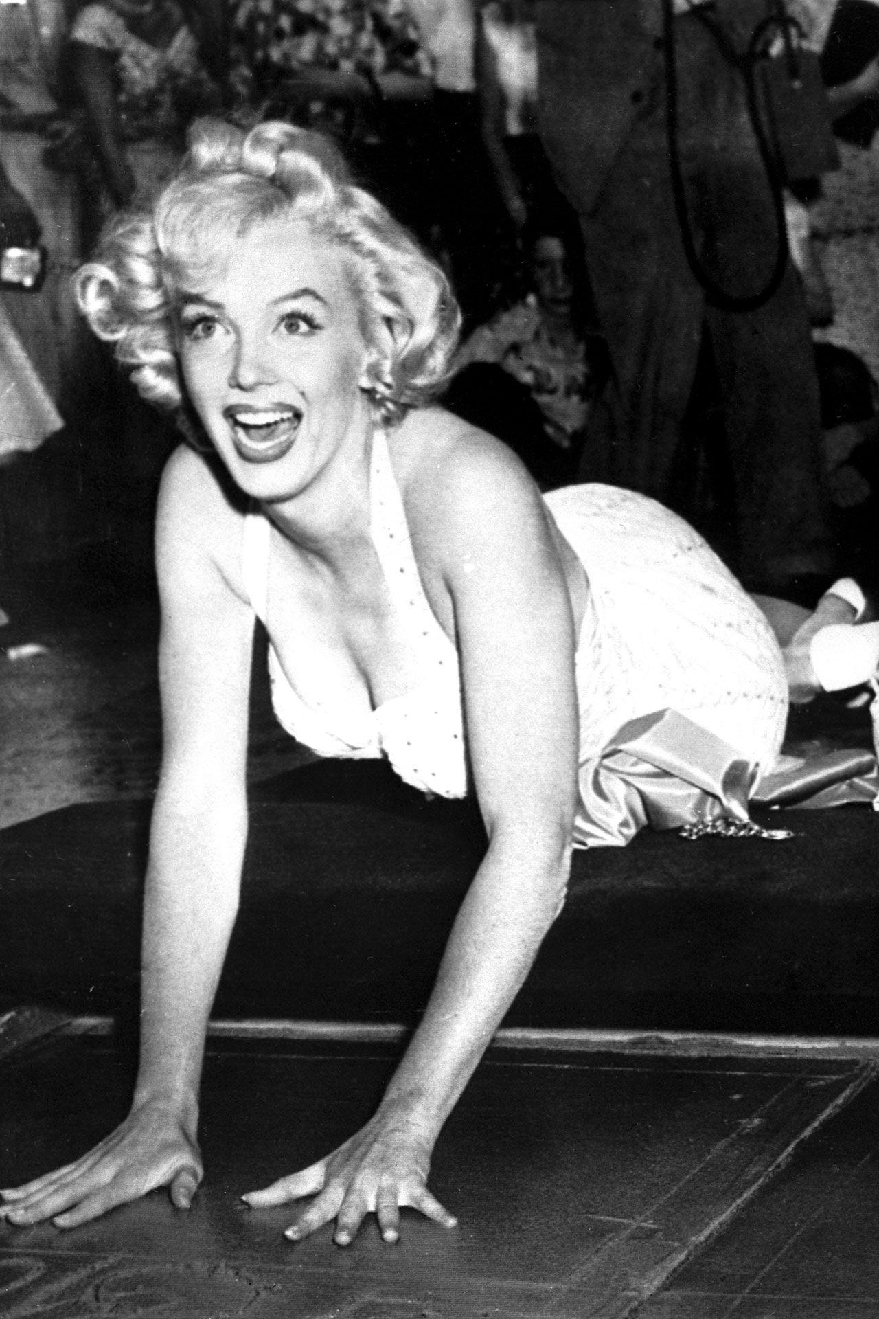Style File Marilyn Monroe Marilyn monroe style, Cement
