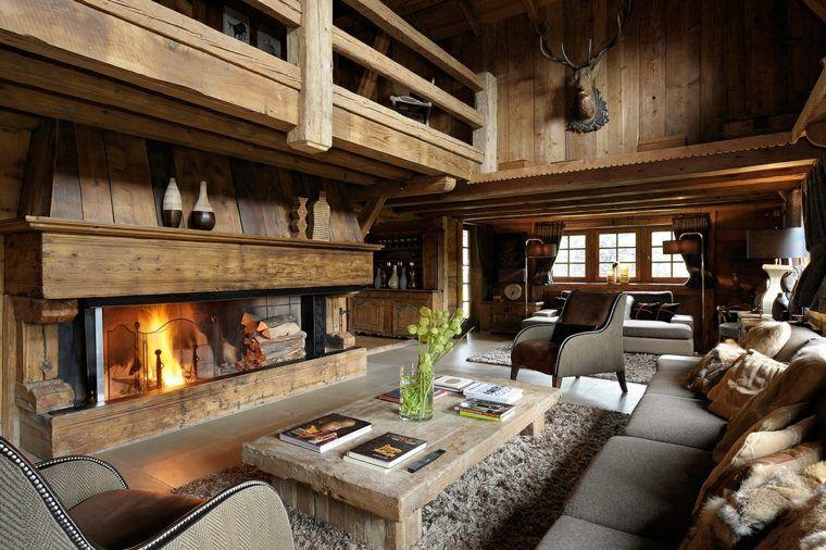 Décoration intérieur chalet montagne : 50 idées inspirantes | Deco ...