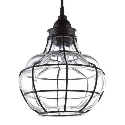 Target Threshold Caged Pendant Lamp Light Fixtures Cage