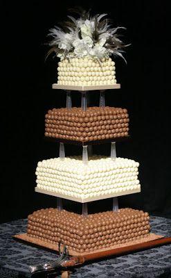 Rainbow Sugarcraft: Designer Chocolate Wedding Cakes