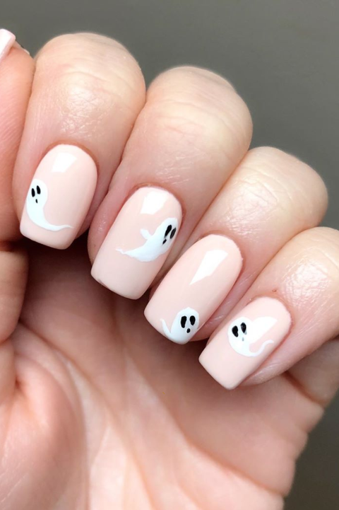 These Halloween Nail Ideas Are the Perfect Combo o