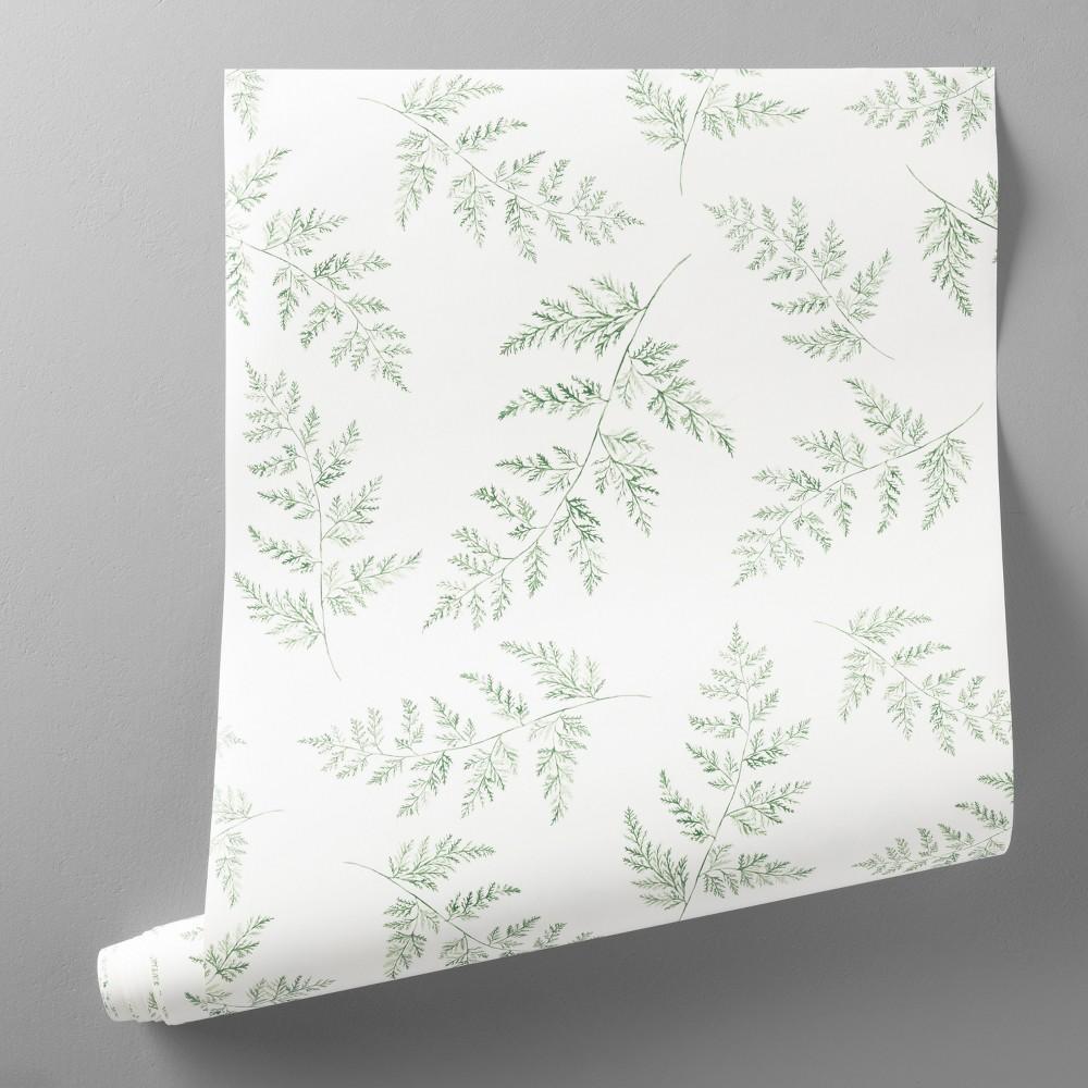 Wallpaper Fern Print Hearth & Hand with Magnolia