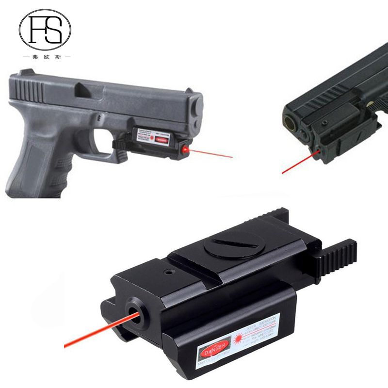 sale tactical rifle pistol hunting red dot laser sight fit