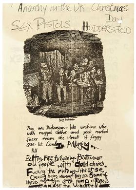 """""""punkpistol-seditionaries:  . SEX PISTOLS flyer .  """""""