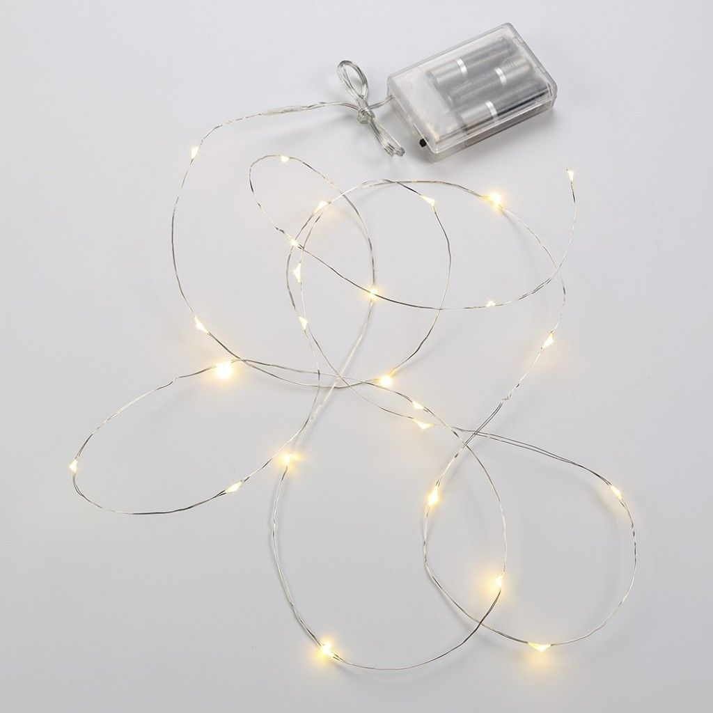 Construction String Lights Rosemary & Holiday Lights Centerpiece  Lighted Centerpieces