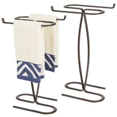 Bathroom Countertop Guest Hand Towel Stand Holder #handtowels