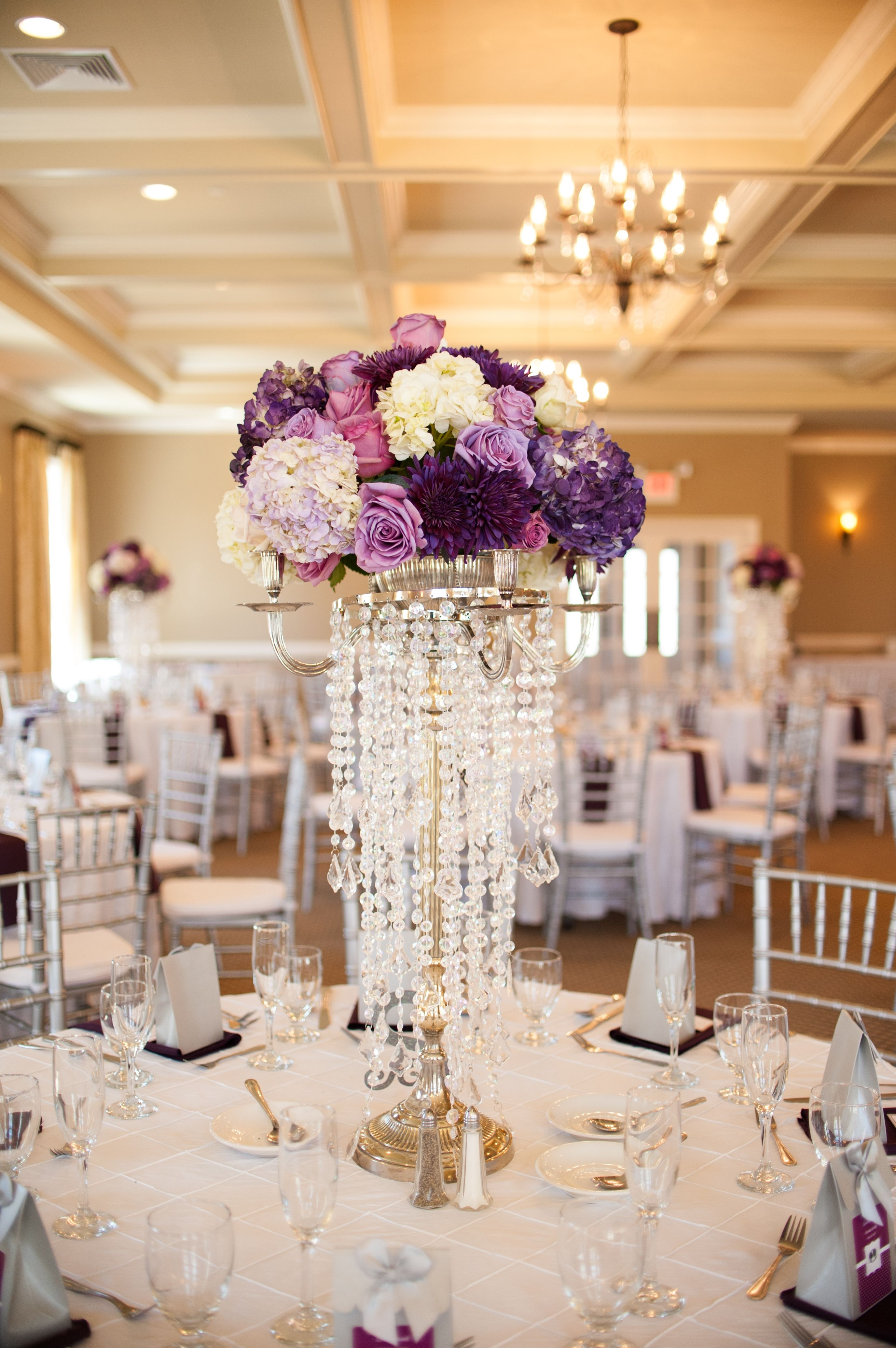 Gorgeous Centerpieces At Sand Springs Country Club In Drums Pa