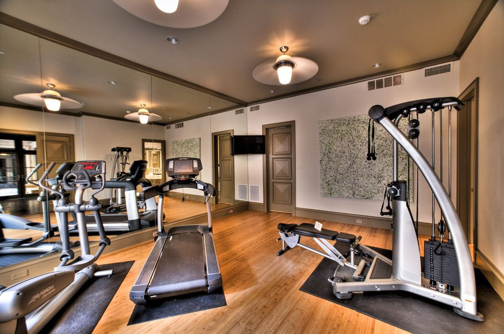 Large Canvas Art Home Gym Contemporary With Artwork