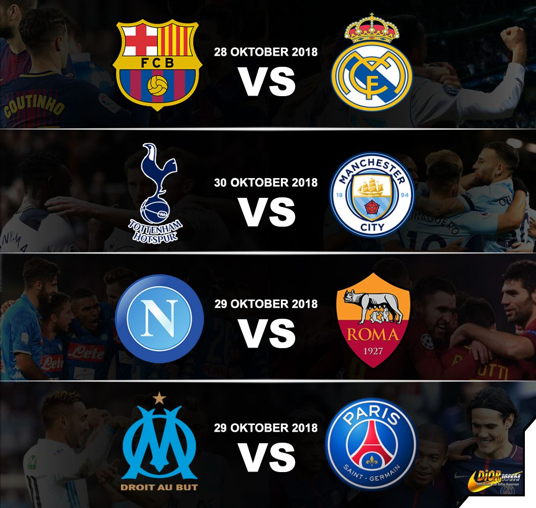 28 Okt 2215 WIB Barcelona vs Real Madrid / beIN Sports 2