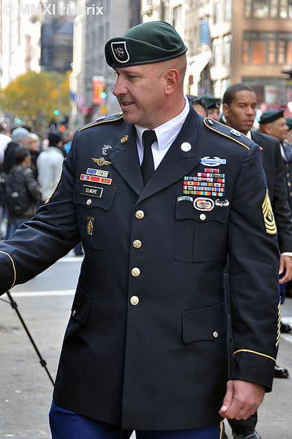 031 Veterans Day Parade - US Army Special Forces | Flickr