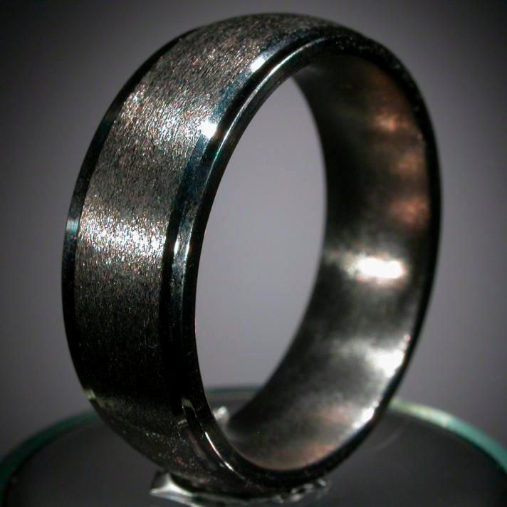 Titanium Wedding Rings For Men   Wedding And Bridal Inspiration