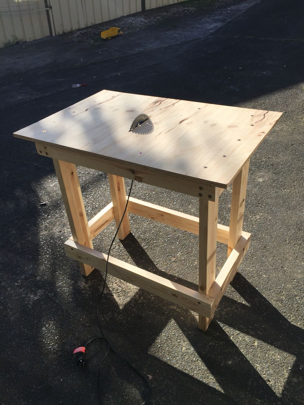 Diy Table Saw Using Circular More