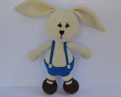 crochet rabbit pattern | easter craft | Pinterest