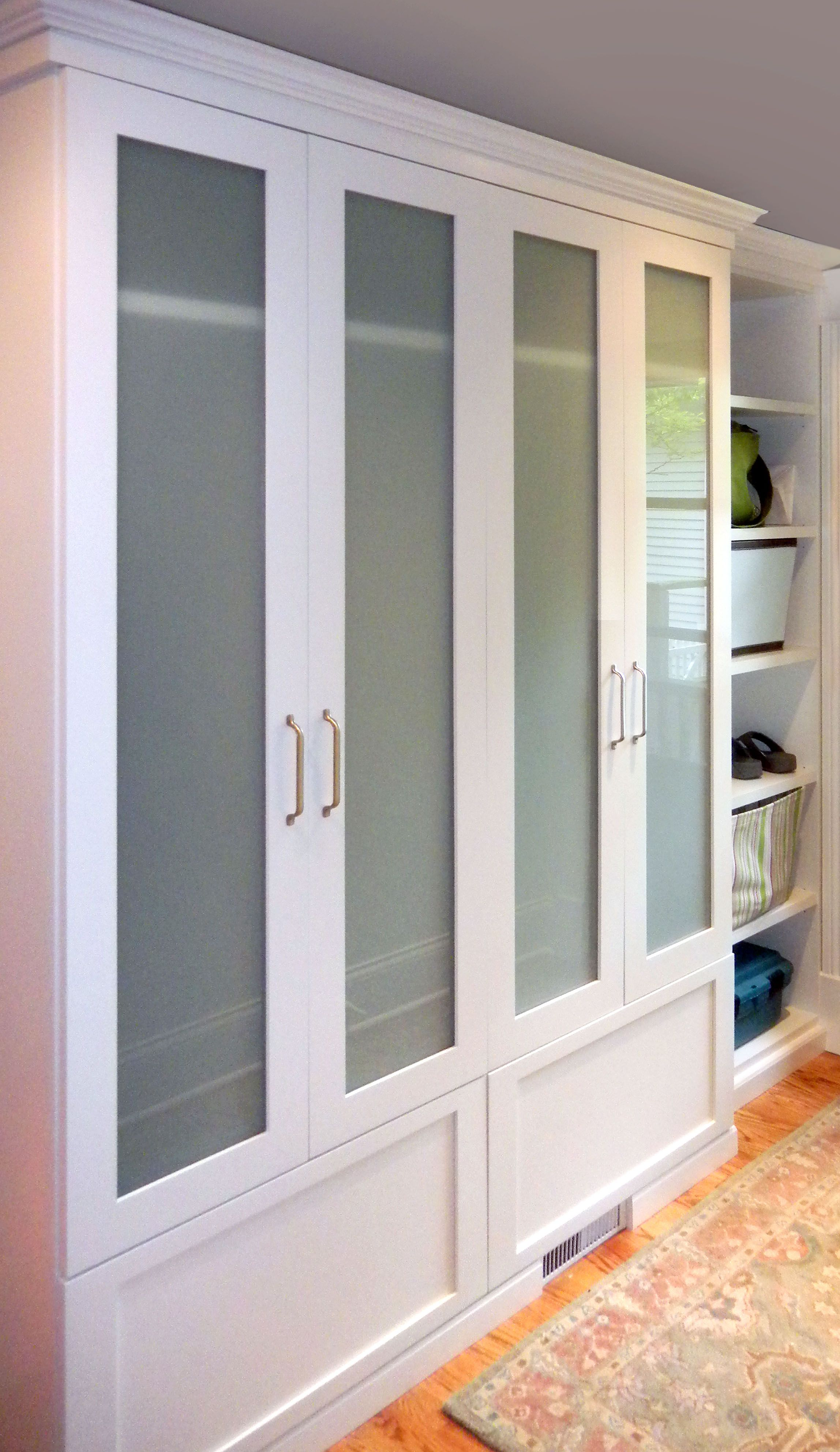 Elegant Gallery / Entryway, Mudroom, Garage / Mudroom For. Bedroom Closet DoorsGlass  ...