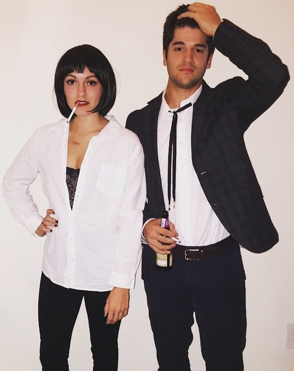 Pulp fiction couple costume costume ideas pinterest d guisements et f tes - Deguisement pulp fiction ...