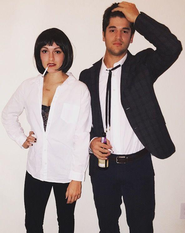 Pulp Fiction Couple Costume  sc 1 st  Pinterest & Pulp Fiction Couple Costume | A little something extra | Pinterest ...