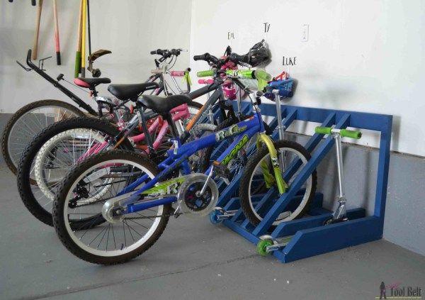 17 Simple Furniture Building Plans For Beginners Diy Garage Diy Bike Rack Simple Furniture
