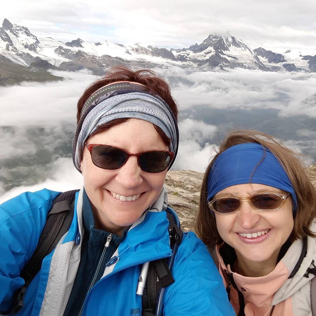 Yup....that's the matterhorn in the background! #zermatt #selfie #myfeetarekillingmebutitwasworthit
