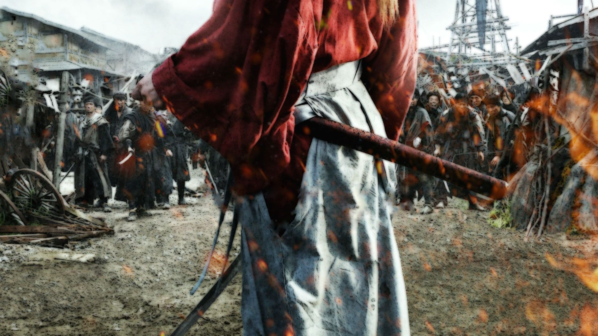 Rurouni Kenshin movie wallpaper