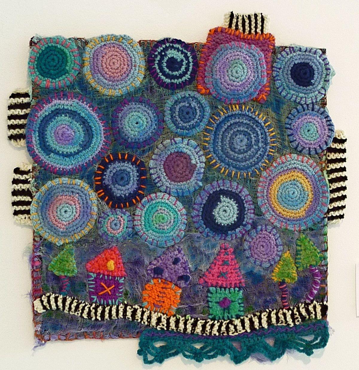 Frankie lemonde meunier crochet wall art ontario canada oooous