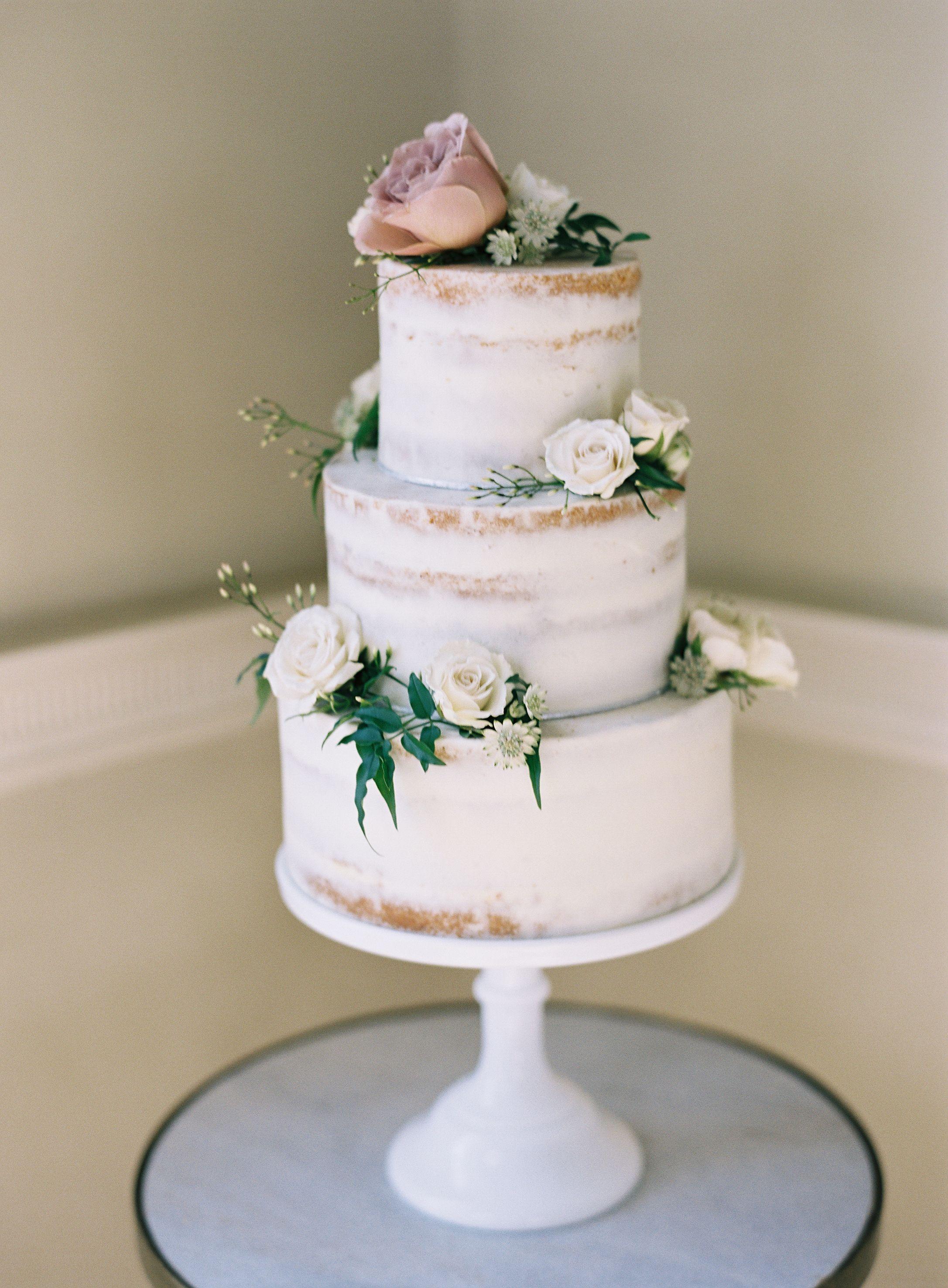 An English Estate Wedding Anchored In Minimalist Design Love Cake Topper Simple Wedding Cake Wedding Cake Prices