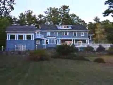 Winneconnett The Sinclair Estate On Lake Winnipesaukee Wolfeboro Nh Youtube Waterfront Homes Lake Winnipesaukee Wolfeboro