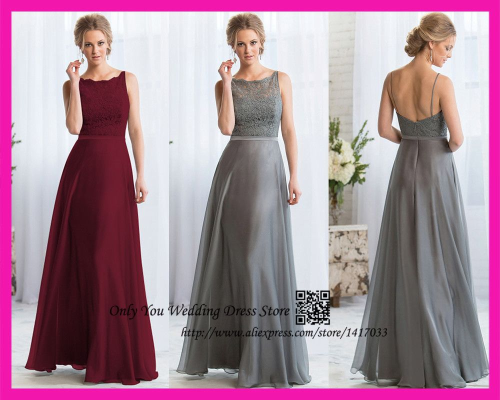 Find more bridesmaid dresses information about vestido madrinha de find more bridesmaid dresses information about vestido madrinha de casamento gray burgundy lace long bridesmaid dress ombrellifo Choice Image