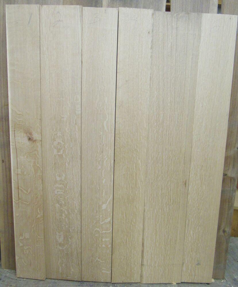 6 Quarter Sawn White Oak Boards 1 1 8 Thick Black Walnut Wood Hardwood Lumber Mahogany Lumber