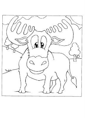 If You Give A Moose A Muffin Coloring Pages Free Kids Coloring