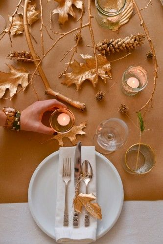3 gorgeous tablescapes you can still pull together for Thanksgiving.