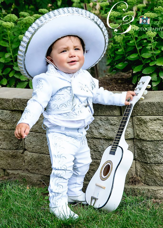who doesn't just love this lil mariachi baby?   bautizo ...