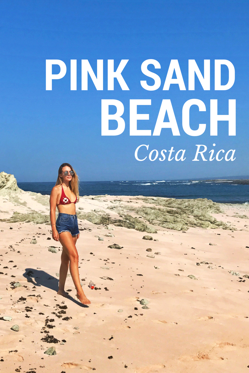 Snorkeling From Pink Sand Beach In Costa Rica Don T Miss It Pink Sand Beach Pink Sand Beach