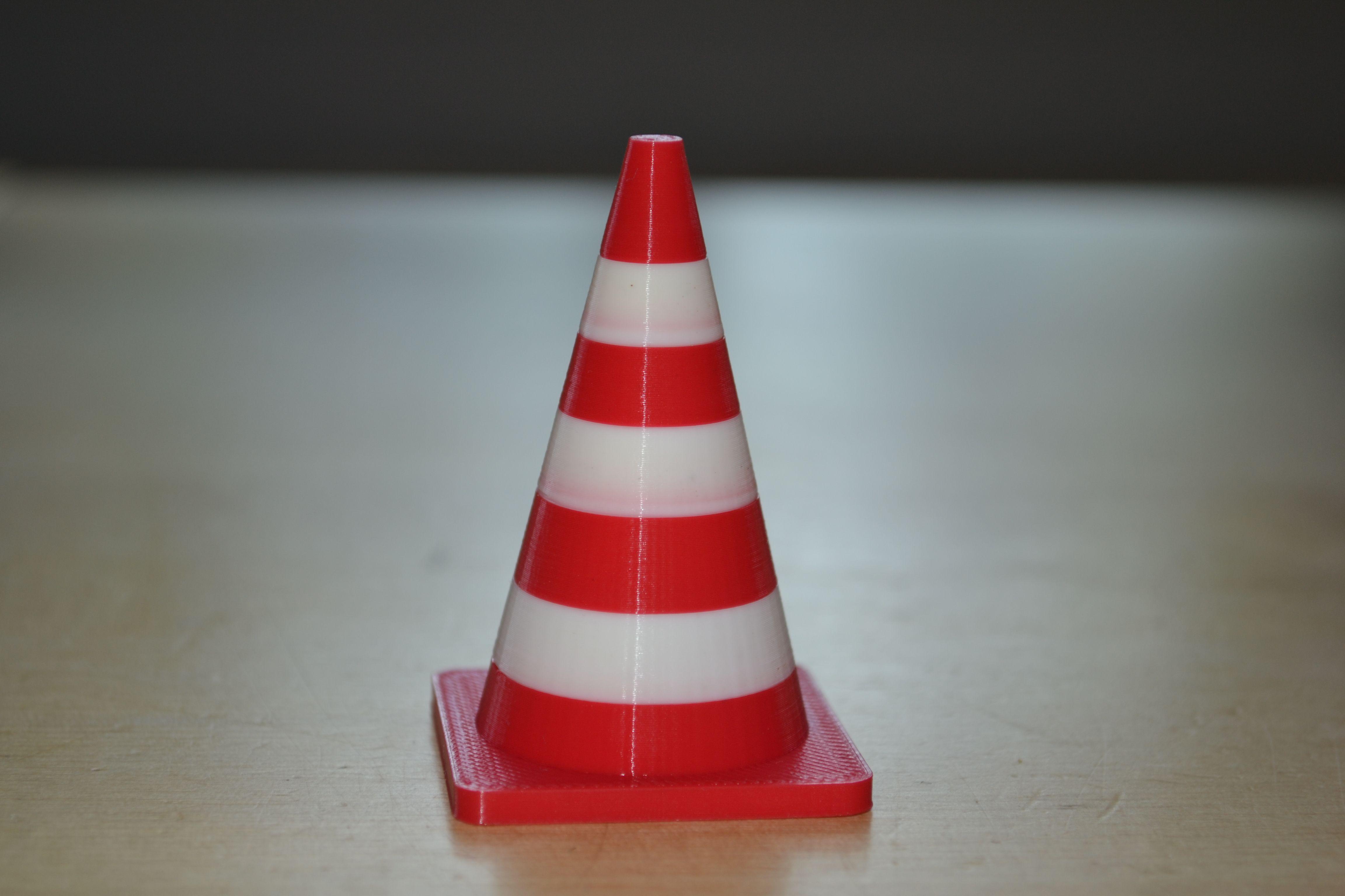 3d printed traffic cone 3d printing cool stuff pinterest
