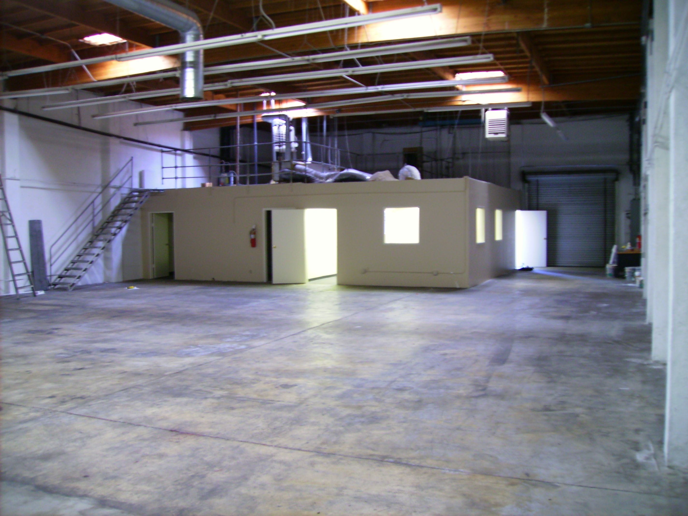 Warehouse space drama workshop ideas pinterest for Build office in garage