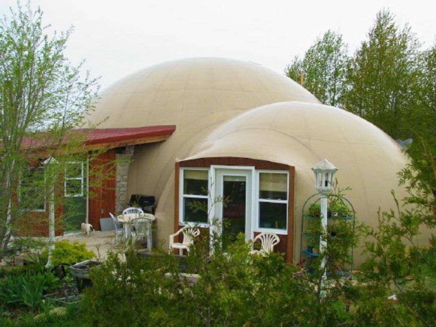 There S No Place Like Dome Monolithic Dome Homes Dome House Green Roof Building